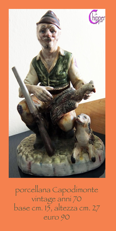 Statua porcellana Capodimonte anni 70