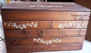 Riciclare e dipingere una cassapanca di legno for Cassapanca legno grezzo